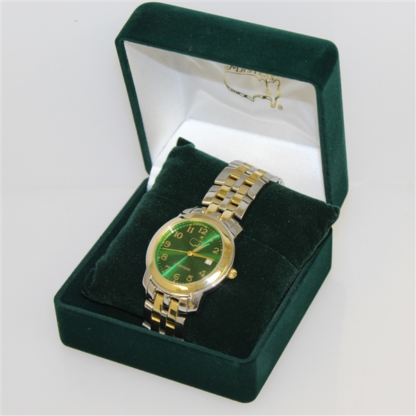 2011 Masters Tournament Ltd Ed Unused Watch in Original Case & Box #1066