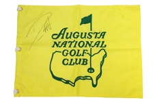 Danny Willett Signed Augusta National Golf Club Embroidered Member Flag PSA/DNA #AG01079