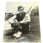 Sam Snead Classic Signed Matted Photo to Doug Sanders PSA/DNA #AG01102