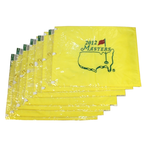 Seven 2012 Masters Embroidered Flags - Bubba Watson First Green Jacket