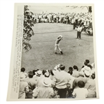 Ben Hogan 1951 US Open Championship at Oakland Hills Drive - Wire Photo