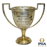 1902 Wannamossett Golf Club Mixed Foursome Silver Plated Loving Cup Trophy