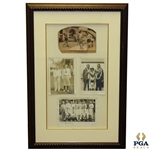 Original 1931 U.S. Ryder Cup Team Photo with Others Inc. Sarazen, Armour, & Burke - Framed