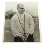 Jack Nicklaus 1961 Jack Nicklaus USGA Stamped 8x10 B&W Photo