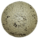 Vintage Vardon Flyer Gutta Percha Bramble Golf Ball