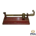Scarborough Motor Guide Company Golf Club Matching Scale - Red