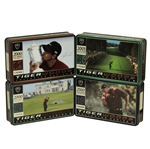 Tiger Woods Nike Tiger Slam Balls in Tin Collectors Boxes - Set of 4