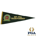 2006 PGA Championship at Medinah Wool Pennant - Tiger Woods Win