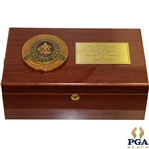 Tiger Woods 2000 PGA Championship-Champions Dinner Gift Humidor w/ Thank You Card - Seldom Seen