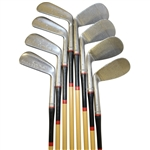 Stainless Set 2-9 of Bruce Heatly Irons Echo Lake C.C. by Pedersen