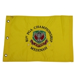 1999 PGA Championship at Medinah Embroidered Pinney Flag - Tigers Second Major Win