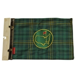 Augusta National Masters Exclusive Ltd Ed Tartan Embroidered Flag - The New 1997?