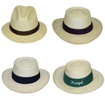 Four Don Cherry Personal Kangol Solid Strap Golf Hats - Brown, Purple, Blue, & Green