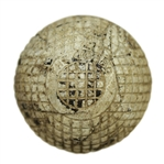 Vintage The Ocobo 27 1/2 Gutta Percha Golf Ball