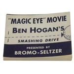 1950s Ben Hogan Heres Your Free Golf Lesson Magic-Eye Movie Flip Book - Excellent Condition