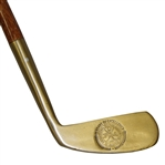 "PGA 75 Years Gold"" Putter - 1916-1991"