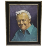 Arnold Palmer Portrait Painting by Bill Waugh - Artist Proof #15/25 w/ Frame