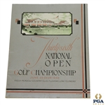 1932 US Open Championship at Fresh Meadow Country Club Program - Gene Sarazen Winner