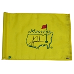 Tiger Woods Signed Masters Course Flown Flag UDA #SHO38177