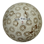 Vintage US Tiger Ball - Donut Pattern