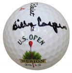 Billy Casper Signed 2013 US Open at Merion Logo Golf Ball JSA ALOA