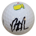 Patrick Reed Signed Masters Logo Golf Ball JSA #V58655