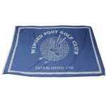 Large Winged Foot Golf Club Clubhouse Flown Flag - Established in 1921 - 12ft x 8ft!