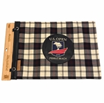2019 US Open at Pebble Beach Embroidered Tartan Seamus Flag - Ltd Ed - Only 75 Made!