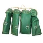 Set of Classic Leather Masters Head Covers - Excellent Condition