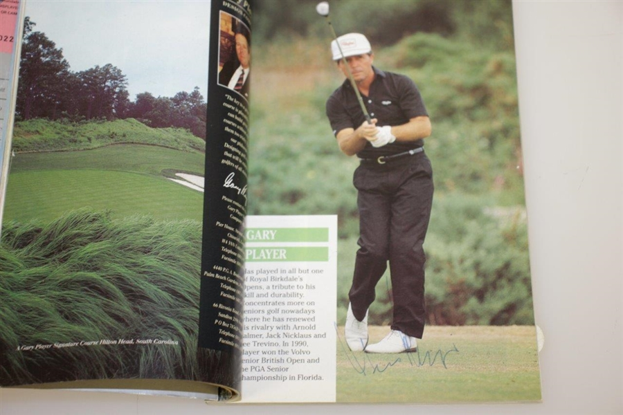 Lot Detail - 1991 Open Championship Birkdale Field Signed