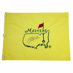 Jack Nicklaus Signed Undated Masters Flag with Years Won Notation JSA FULL #Z91301