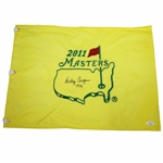Billy Casper Signed 2011 Masters Embroidered Flag with 1970 Notation JSA #EE96295
