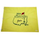 Trevor Immelman Signed 2014 Masters Embroidered Flag JSA #EE96297