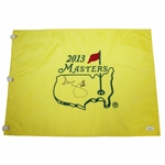 Adam Scott Signed 2013 Masters Embroidered Flag JSA #EE96296