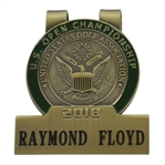 Ray Floyds 2018 US Open at Shinnecock Hills Contestant Badge / Money Clip