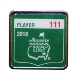 Ray Floyds 2018 Masters Tournament Contestant Badge #111