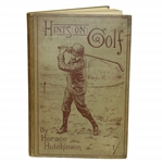 1891 Hints on Golf Book by Horace Hutchinson