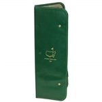 1959 Masters Tournaments Accessories Case in Green Cowhide Leather Gift - Wall Winner