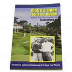 Jack Fleck Signed 1955 US Open - Fleck Vs. Hogan Olympic Club San Francisco Book JSA ALOA