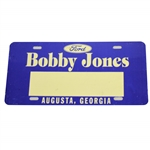 Bobby Jones Ford License Plate from Augusta, Georgia Dealership
