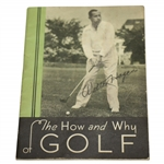 Walter Hagens The How & Why of Golf Promotional Publication