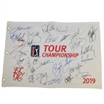 2019 Tour Championship Flag Signed by McIlroy, Koepka, Fowler, Thomas & Others JSA ALOA