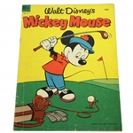 1953 Walt Disneys Mickey Mouse Dell Comic No. 30 with Golfing Mickey Cover