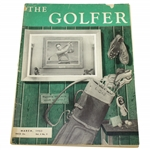 1953 The Golfer Magazine Featuring Bobby Jones Framed Painting