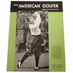 1933 The American Golfer Featuring Bobby Jones Publication by Grantland Rice