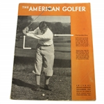 1931 The American Golfer Bobby Jones by Grantland Rice Magazine