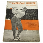 1932 The American Golfer Bobby Jones by Grantland Rice Magazine