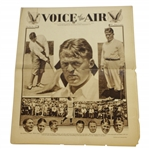 1930 Voice of the Air Bobby Jones Publication
