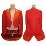 Captains Red Coat Jacket From Leasowe GC - Produced by John Bell Liverpool Ltd