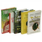 Masters Tournament Augusta National Fiction Grouping of Five Books